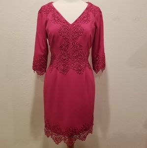 Antonio Melani size 10 pink cocktail dress